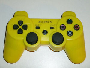 FOR SALE: BRAND NEW SONY PS3 BLUETOOTH WIRELESS YELLOW!!!!!