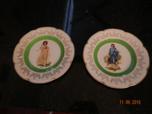 Blue Boy & Pink Lady Collectible Plates