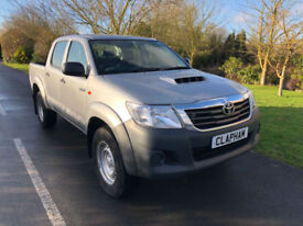 2015 65 TOYOTA HILUX 2.5D 4WD EURO 5 145BHP DOUBLE CAB 18000 MILES UK DELIVERY