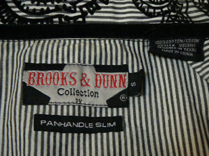 Black and White 'Brooks & Dunn' Top, Like New Peterborough Peterborough Area image 3