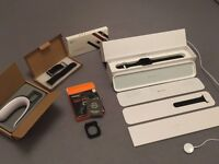 Apple Watch Sport 42mm Space Grey + Accessories