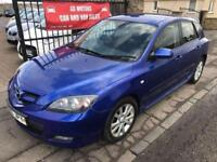 2007 MAZDA 3 TAMURA, 1 YEAR MOT, WARRANTY, NOT FOCUS ASTRA BRAVO GOLF 307