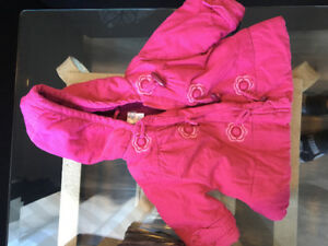 Children's place 0-6month girls jacket