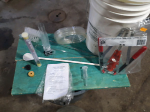 Wine making kit for sale.