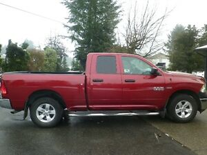 2014 Dodge Power Ram 1500 SXT Quad Cab Pickup Truck