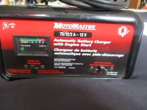 MotoMaster Automatic Battery Charger $45.00 OBO Wolfville area