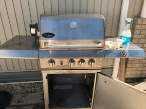 Stainless Steele BBQ.