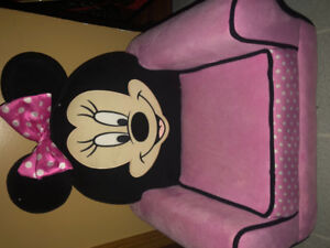 Minnie Mouse  Plush Toddler Chair