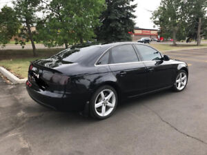 2012 AUDI A4 BLACKED OUT FINANCE TAKE OVER