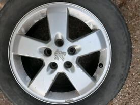 Alloys plus tyres set 4 205x60rx16