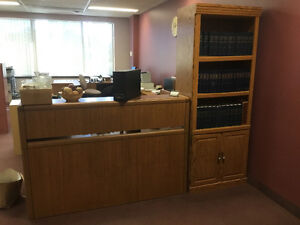 Board room chairs and credenza Cambridge Kitchener Area image 7