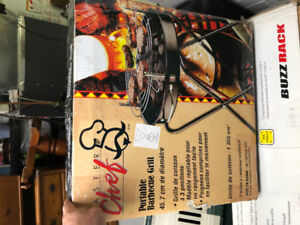 PORTABLE BBQ GRILL FOR SUPER CHEAP! BRAND NEW NEVER OPENED!