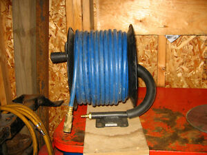 FOR SALE- REEL WITH AIR HOSE Kawartha Lakes Peterborough Area image 1