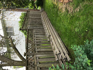 4 Extension Ladders Like New!!