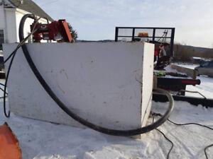 Fuel barrel and 12 volt pump