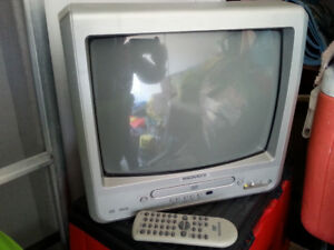 Small Tube T.V with built in DVD player. Excellent working condi