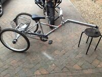 Mission Cycles Piggyback Mk2 Childs / adult bicycle trailer