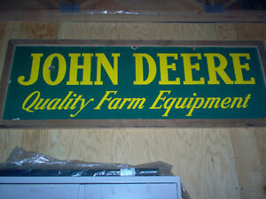 WANTED john deere signs,  any condition London Ontario image 4