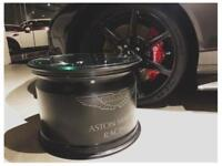 ASTON MARTIN V8 RACING ALLOY COFFEE TABLE