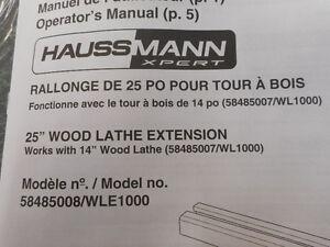 "25""  Wood Lathe Extension London Ontario image 1"