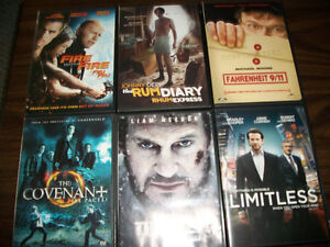 200 plus movies/dvd's for sale