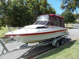 HALF CABIN IDEAL FAMILY BOAT, FISHING/SKIING Brookwater Ipswich City Preview