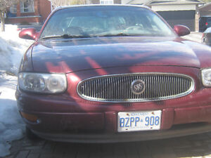 2001 Buick LeSabre Limited - needs frame repair