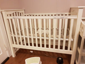 White Kendall crib from Pottery Barn