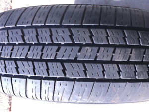 All season tire (one tire only) 186x65 R 15 for $20