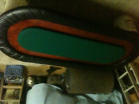home made large poker table