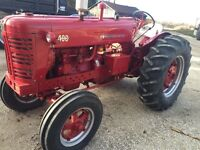 Antique tractors for sale