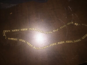 "24"" gold chain"