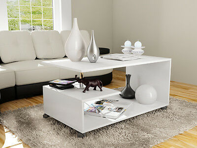 تربيزه جديد Living Room Furniture Modern Design Coffee Table – White – Free Shipping