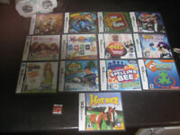 14 nintendo ds games (prices vary)
