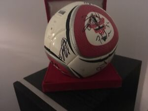 ALL THE PLAYERS SIGNED!: TFC BALL