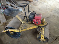 Power Lawn Roller - project