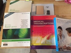 Medical office admin books for sale