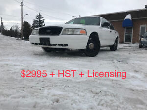 2011 Ford Crown Victoria **CERTIFIED & E-TESTED**