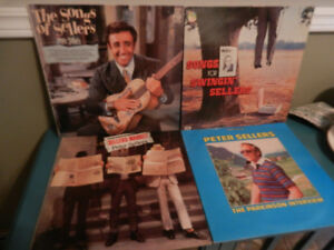 Vinyl Records/LP's British Comedy The Goons,Peter Sellers etc.