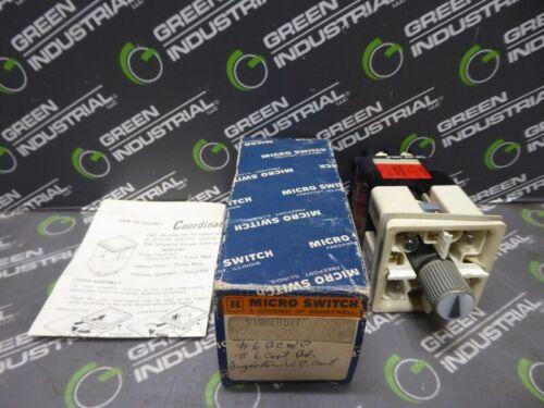 NEW Honeywell 910AEB511 Micro Switch