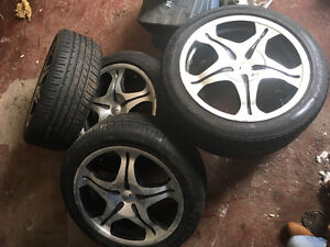rims and tires 500 OBO