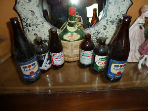 Unopened Stubbies, vintage Labatt bottles