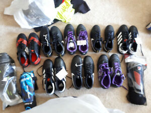 Brand New Soccer Cleats Adidas, Nike and Lotto. All sizes availa