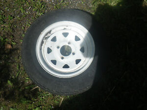 """Roue trailer/tente roulotte 5.30 12"""" charge C"""