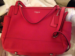 Coach baby bag -   Red