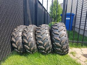 4 pneus Maxxis 25po