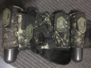 Assorted paintball gear for sale