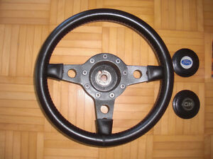 Brand New Vintage Leather Wrapped Steering Wheel