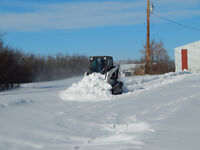 Snow removal and Skid Steer Services