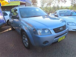 2007 Ford Territory SY TX Silver 4 Speed Sports Automatic Wagon Mount Druitt Blacktown Area Preview